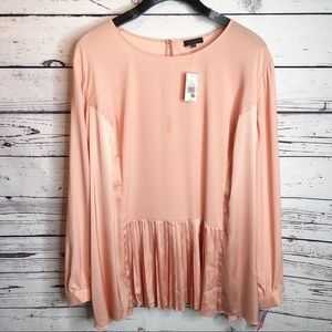 NWT the limited collection pleated blouse